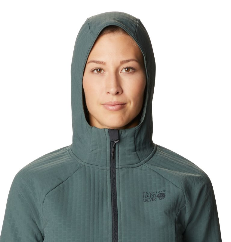 Women's Keele Grid Full Zip Hoody Women's Keele Grid Full Zip Hoody, a2
