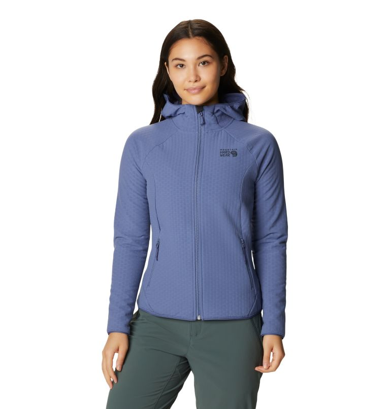 Women's Keele Grid Hoody Women's Keele Grid Hoody, front