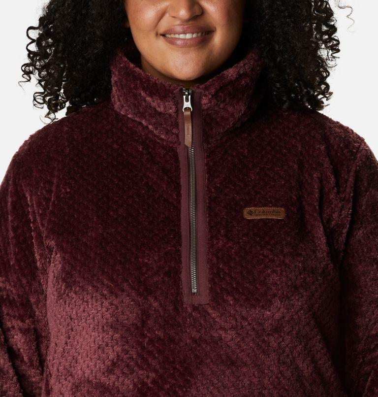 Women's Fire Side™ Quarter Zip Sherpa Fleece - Plus Size Women's Fire Side™ Quarter Zip Sherpa Fleece - Plus Size, a2