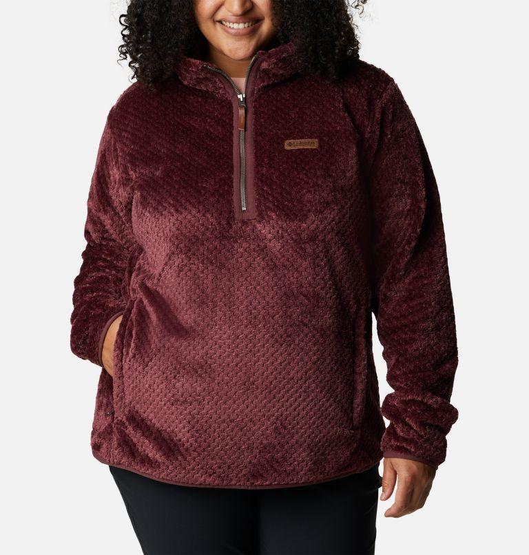 Women's Fire Side™ Quarter Zip Sherpa Fleece - Plus Size Women's Fire Side™ Quarter Zip Sherpa Fleece - Plus Size, a3