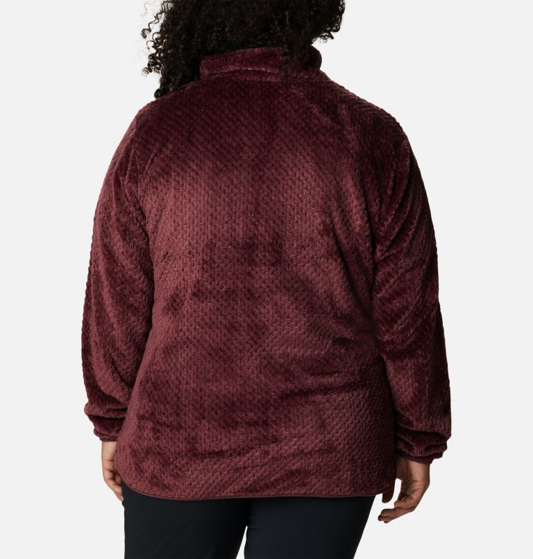 Women's Fire Side™ Quarter Zip Sherpa Fleece - Plus Size Women's Fire Side™ Quarter Zip Sherpa Fleece - Plus Size, back