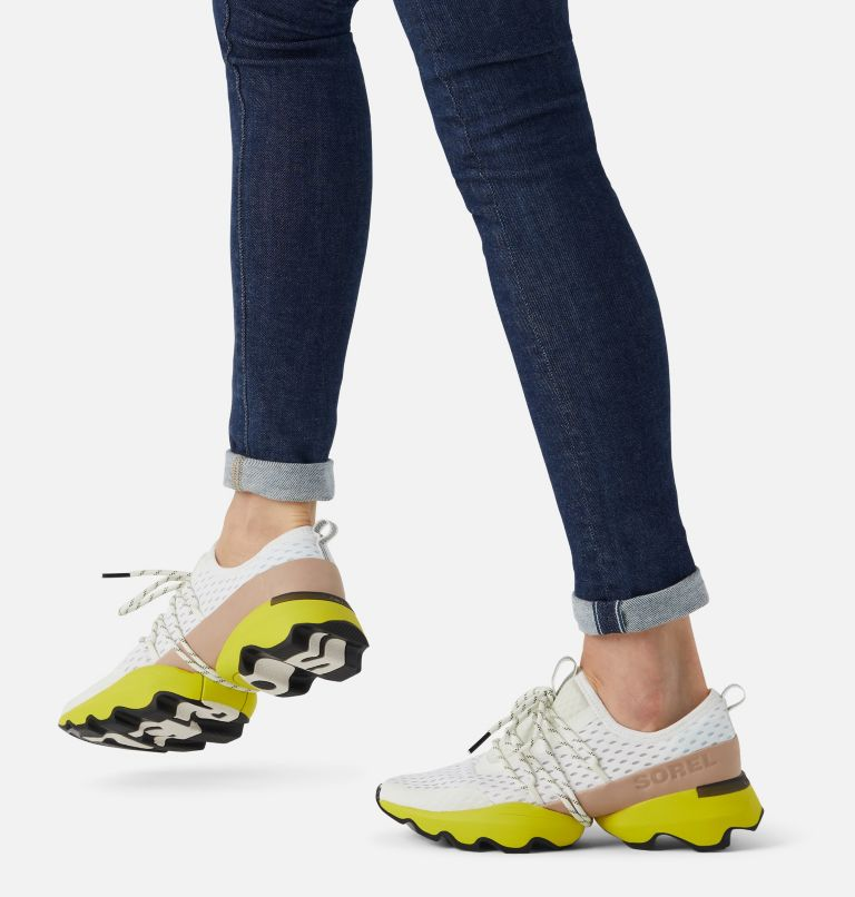 KINETIC™ IMPACT LACE | 126 | 6.5 Womens Kinetic™ Impact Lace Sneaker, Sea Salt, Yellow, a9