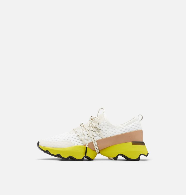 KINETIC™ IMPACT LACE | 126 | 6.5 Womens Kinetic™ Impact Lace Sneaker, Sea Salt, Yellow, medial