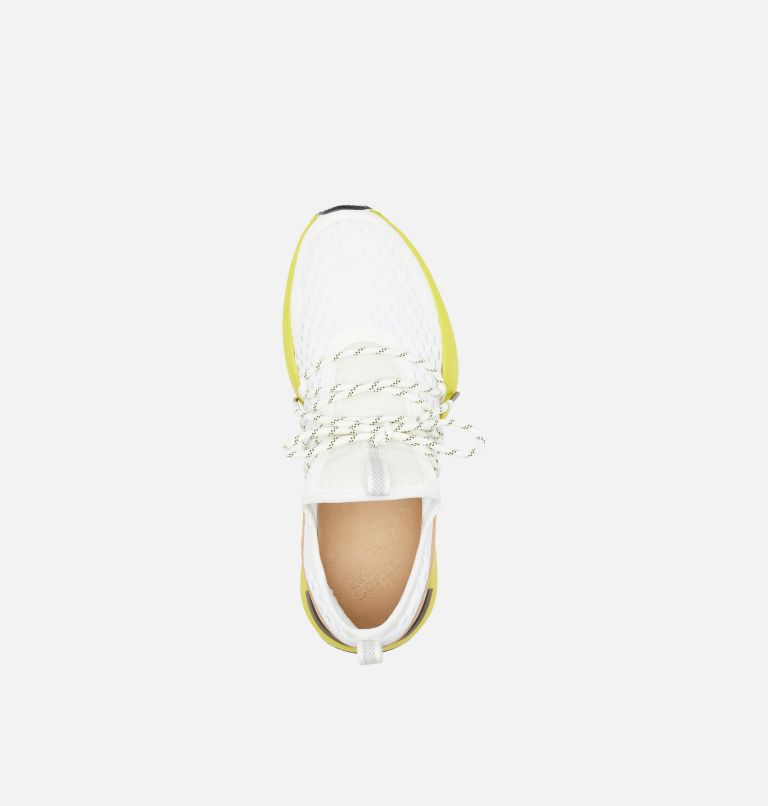 KINETIC™ IMPACT LACE | 126 | 6.5 Womens Kinetic™ Impact Lace Sneaker, Sea Salt, Yellow, top