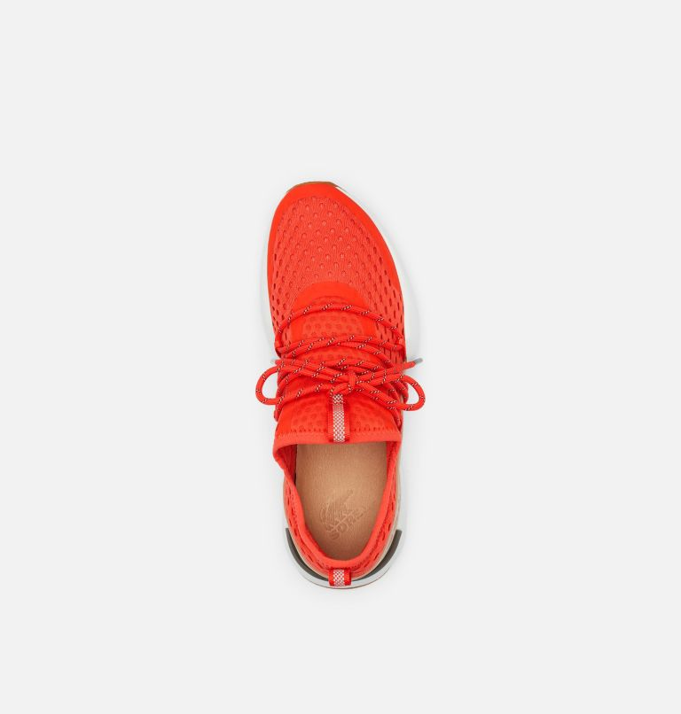 KINETIC™ IMPACT LACE | 854 | 9 Womens Kinetic™ Impact Lace Sneaker, Signal Red, top