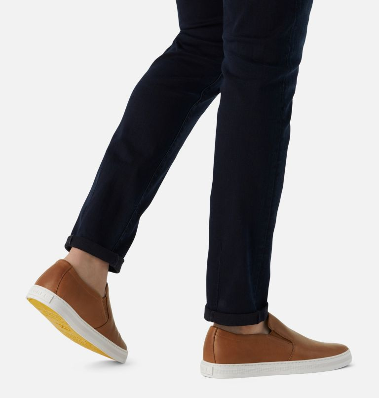 CARIBOU™ MOD SLIP WP | 215 | 11.5 Mens Caribou™ Mod Slip-On WP, Brown Flora, Sea Salt, a9