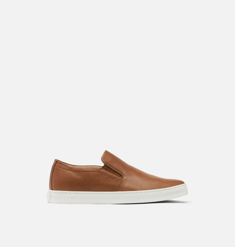 CARIBOU™ MOD SLIP WP | 215 | 12 Mens Caribou™ Mod Slip-On WP, Brown Flora, Sea Salt, front