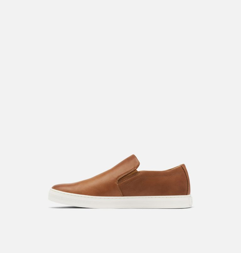 CARIBOU™ MOD SLIP WP | 215 | 12 Mens Caribou™ Mod Slip-On WP, Brown Flora, Sea Salt, medial