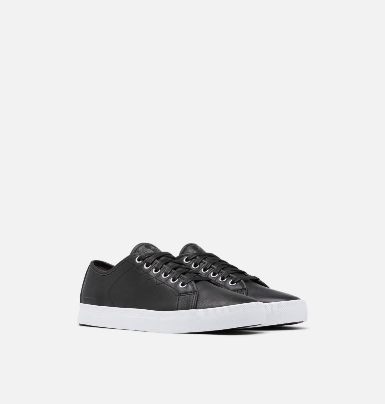CARIBOU™ SNEAKER LOW WP | 010 | 11 Mens Caribou™ Low Sneaker WP, Black, White, 3/4 front