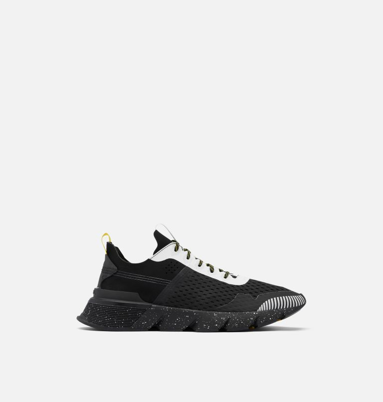 KINETIC™ RUSH MESH | 010 | 9.5 Mens Kinetic™ Rush Mesh Sneaker, Black, White, front