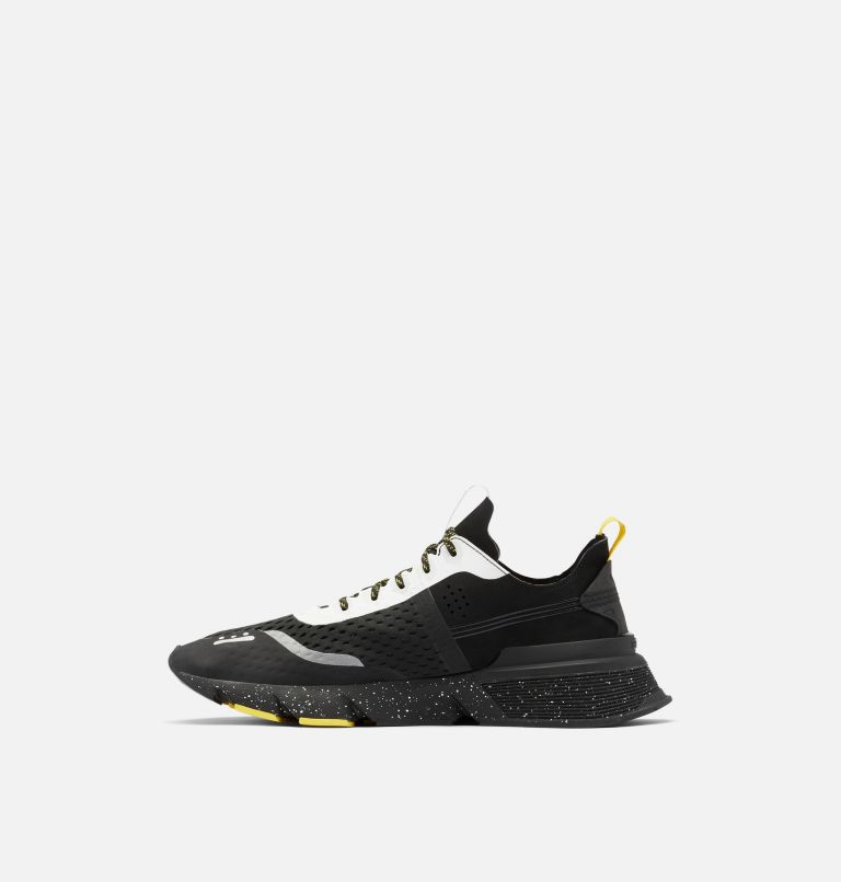 KINETIC™ RUSH MESH | 010 | 9.5 Mens Kinetic™ Rush Mesh Sneaker, Black, White, medial