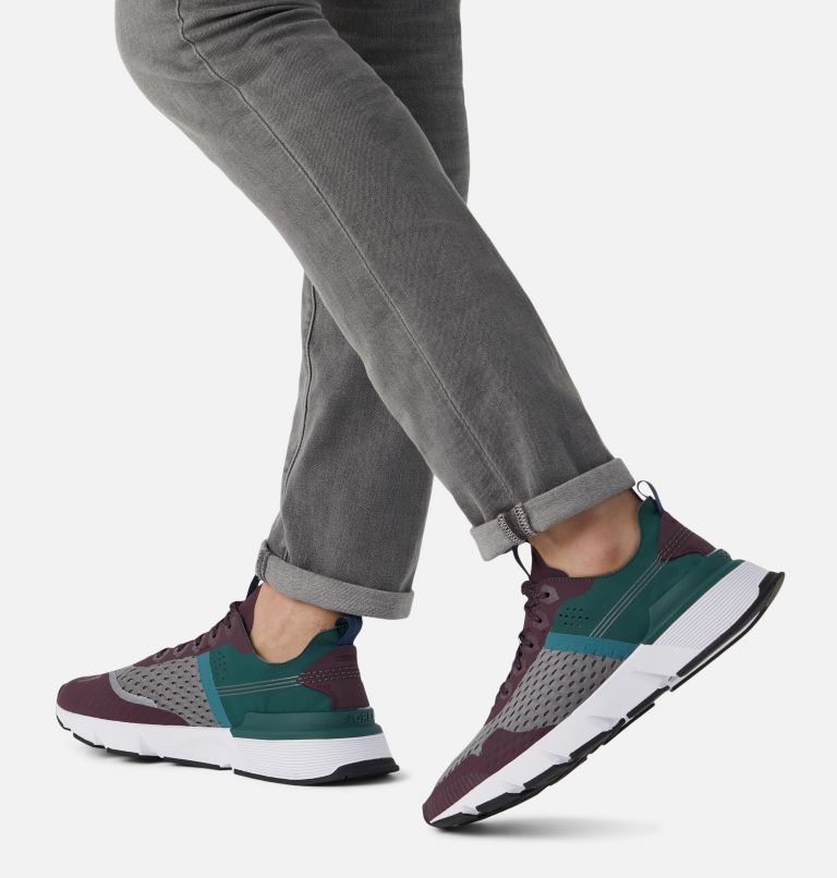 KINETIC™ RUSH MESH | 543 | 7.5 Mens Kinetic™ Rush Mesh Sneaker, Epic Plum, Quarry, a9