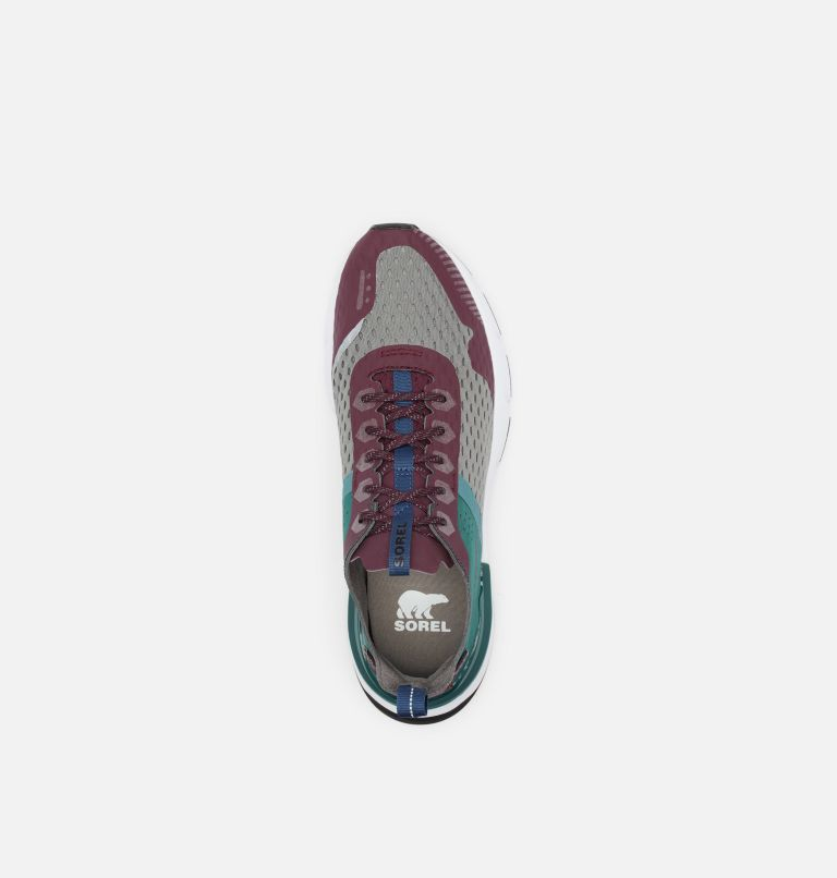 KINETIC™ RUSH MESH | 543 | 7.5 Mens Kinetic™ Rush Mesh Sneaker, Epic Plum, Quarry, top