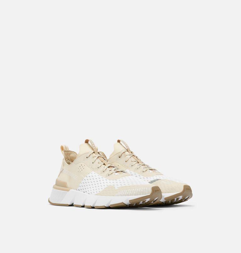 KINETIC™ RUSH MESH | 920 | 9.5 Mens Kinetic™ Rush Mesh Sneaker, Fawn, White, 3/4 front