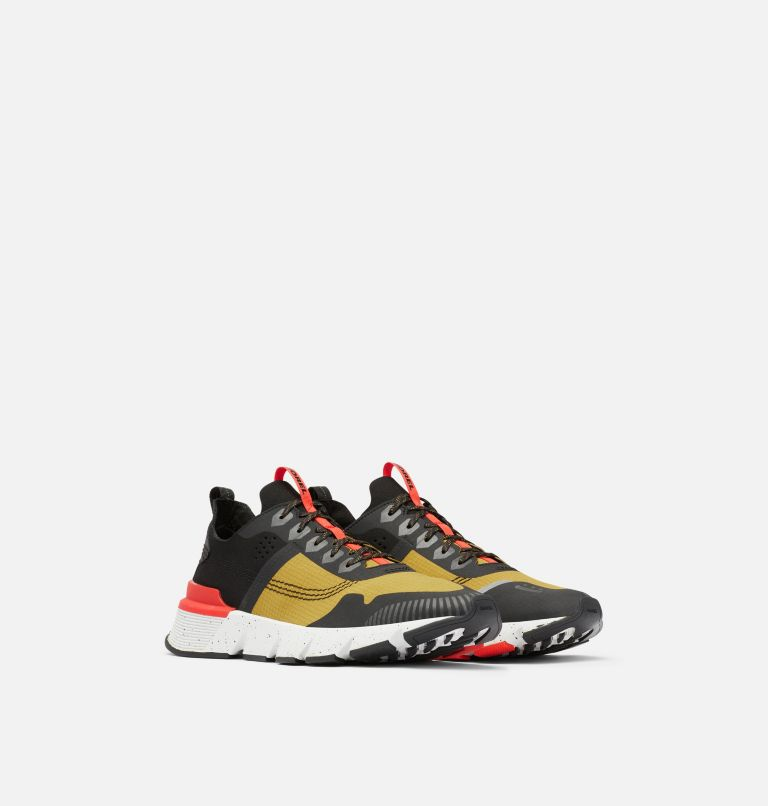 KINETIC™ RUSH RIPSTOP | 236 | 11.5 Men's Kinetic™ Rush Ripstop Sneaker, Dioxide Gold, Fiery Red, 3/4 front
