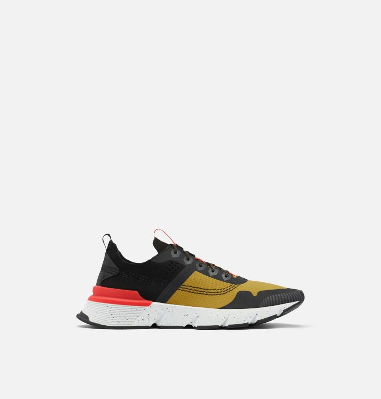 KINETIC™ RUSH RIPSTOP | 236 | 11.5 Men's Kinetic™ Rush Ripstop Sneaker, Dioxide Gold, Fiery Red, front