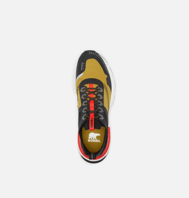 KINETIC™ RUSH RIPSTOP | 236 | 11.5 Men's Kinetic™ Rush Ripstop Sneaker, Dioxide Gold, Fiery Red, top