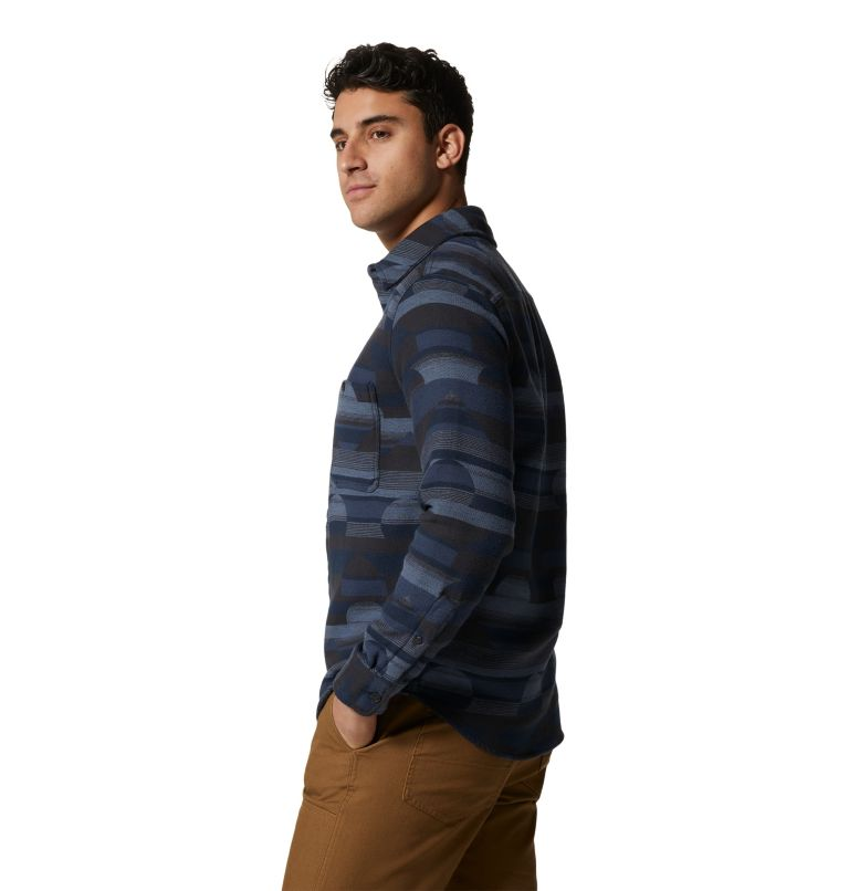 Men's Granite Peak™ Long Sleeve Flannel Shirt Men's Granite Peak™ Long Sleeve Flannel Shirt, a1