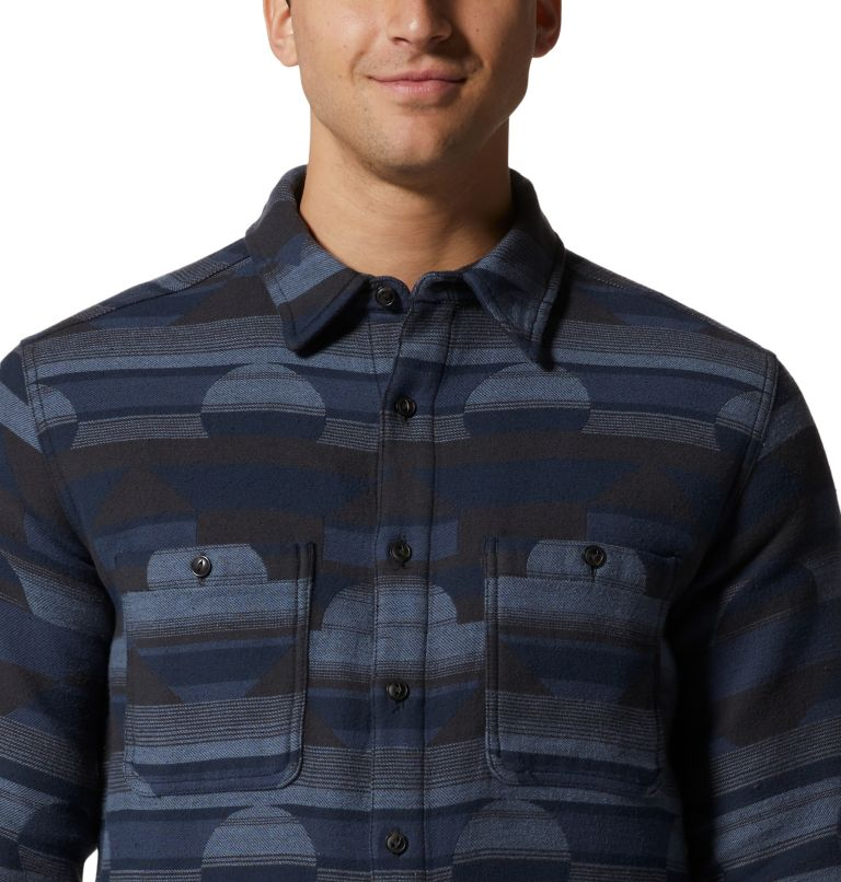 Men's Granite Peak™ Long Sleeve Flannel Shirt Men's Granite Peak™ Long Sleeve Flannel Shirt, a2