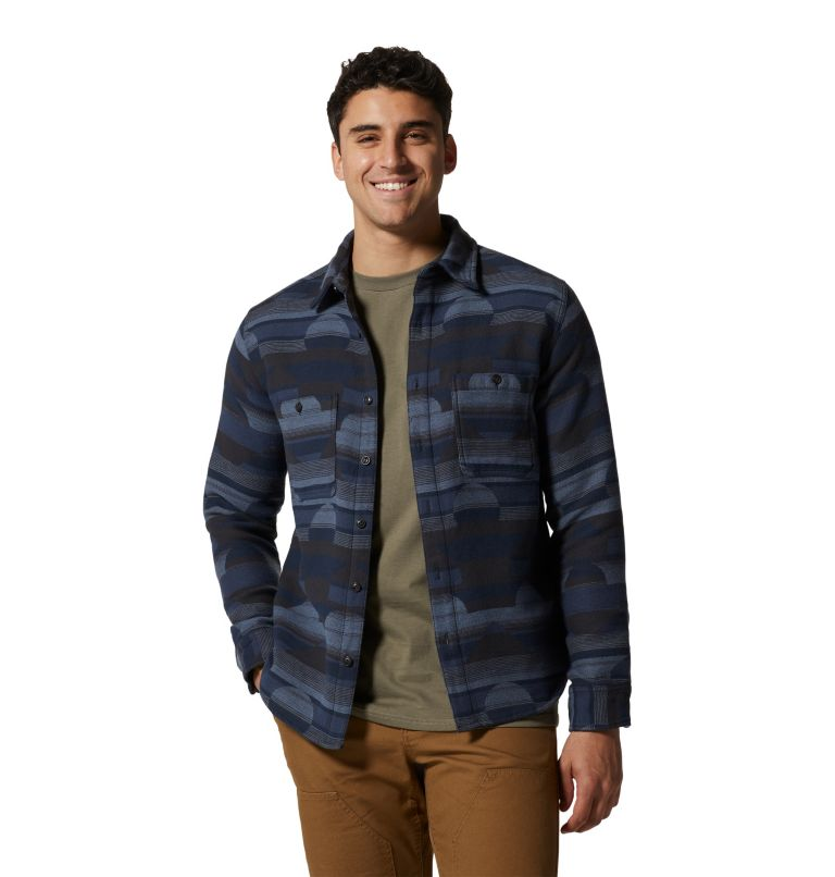 Men's Granite Peak™ Long Sleeve Flannel Shirt Men's Granite Peak™ Long Sleeve Flannel Shirt, a3