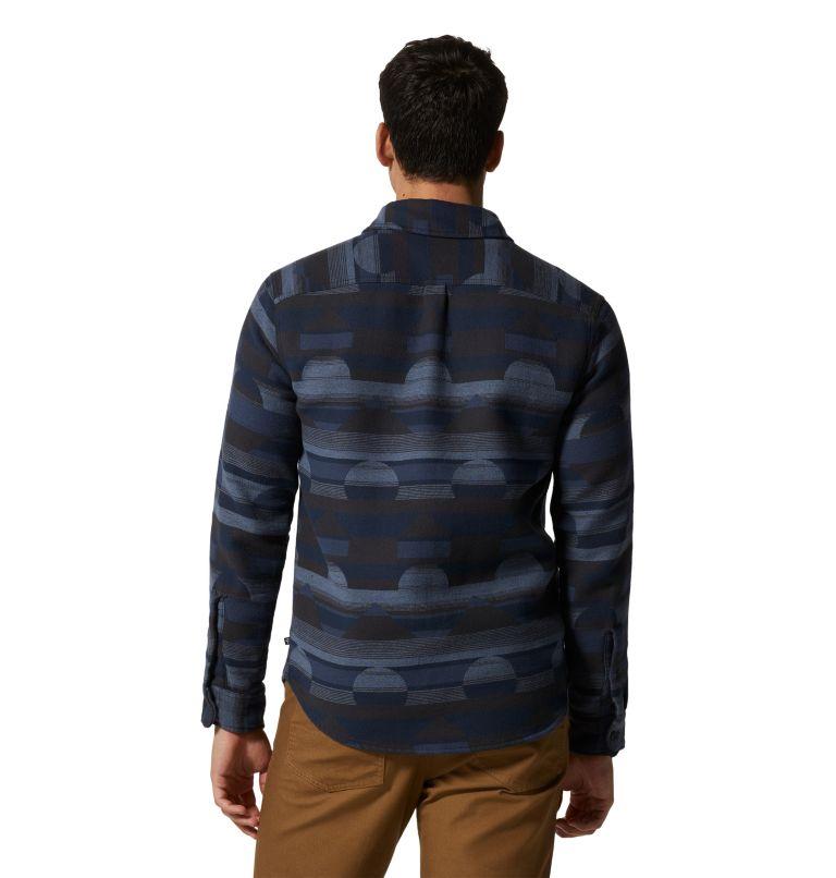 Men's Granite Peak™ Long Sleeve Flannel Shirt Men's Granite Peak™ Long Sleeve Flannel Shirt, back