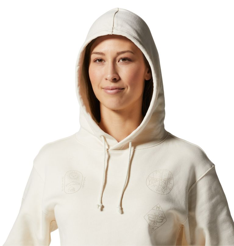 CA National Parks Badges™ Pullover Hoody | 108 | XS Women's CA National Parks Badges™ Pullover Hoody, Raw, a2