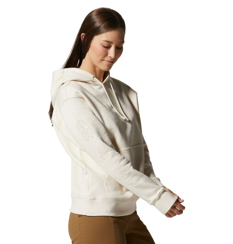 CA National Parks Badges™ Pullover Hoody | 108 | XS Women's CA National Parks Badges™ Pullover Hoody, Raw, a4