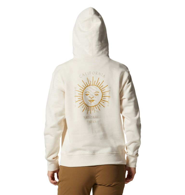 CA National Parks Badges™ Pullover Hoody | 108 | XS Women's CA National Parks Badges™ Pullover Hoody, Raw, back