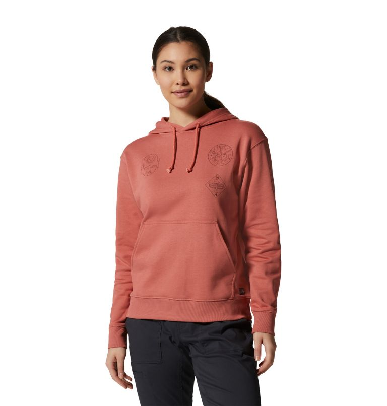 Women's CA National Parks Badges™ Pullover Hoody Women's CA National Parks Badges™ Pullover Hoody, front
