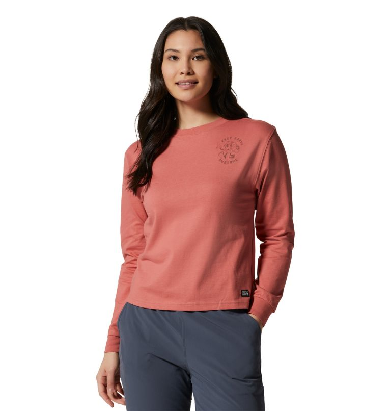 Women's KEA Earth™ Long Sleeve T-Shirt Women's KEA Earth™ Long Sleeve T-Shirt, front