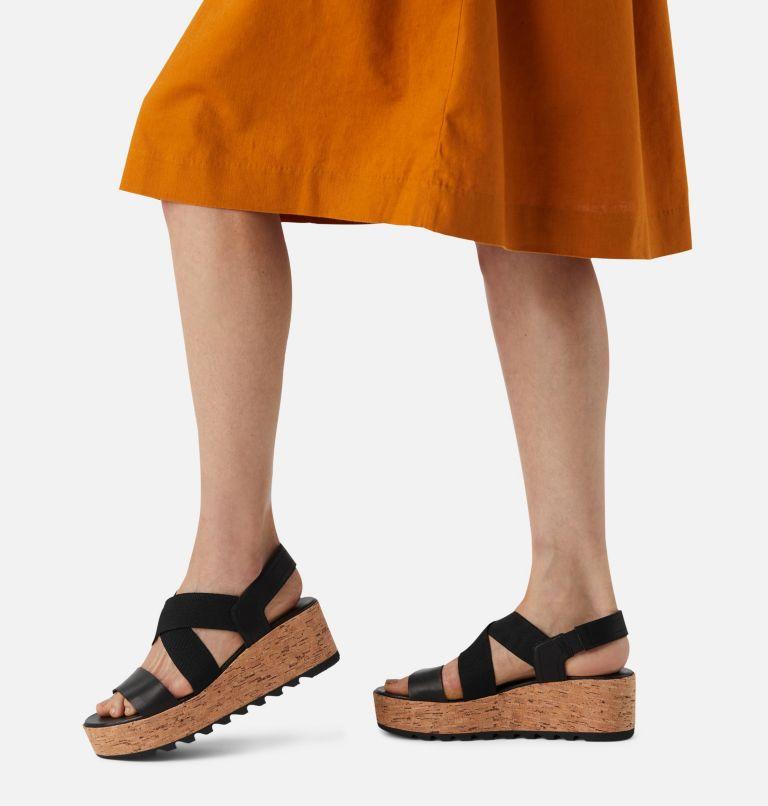 CAMERON™ FLATFORM SLINGBACK | 010 | 5.5 Womens Cameron™ Flatform Slingback Wedge Sandal, Black, a9