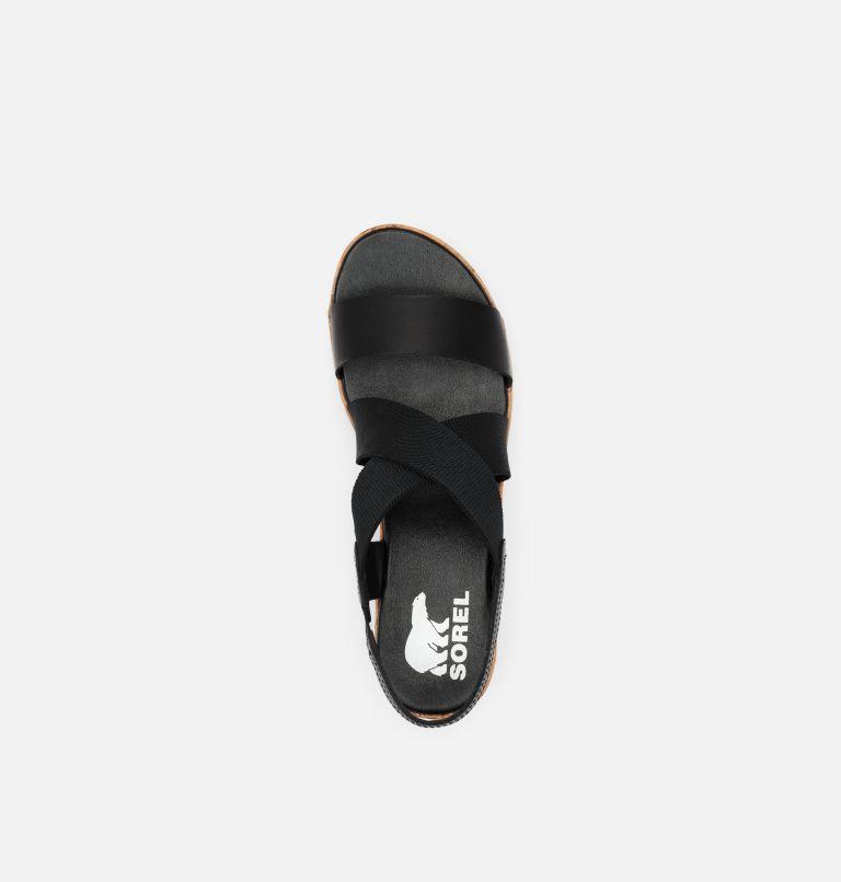 CAMERON™ FLATFORM SLINGBACK | 010 | 5.5 Womens Cameron™ Flatform Slingback Wedge Sandal, Black, top