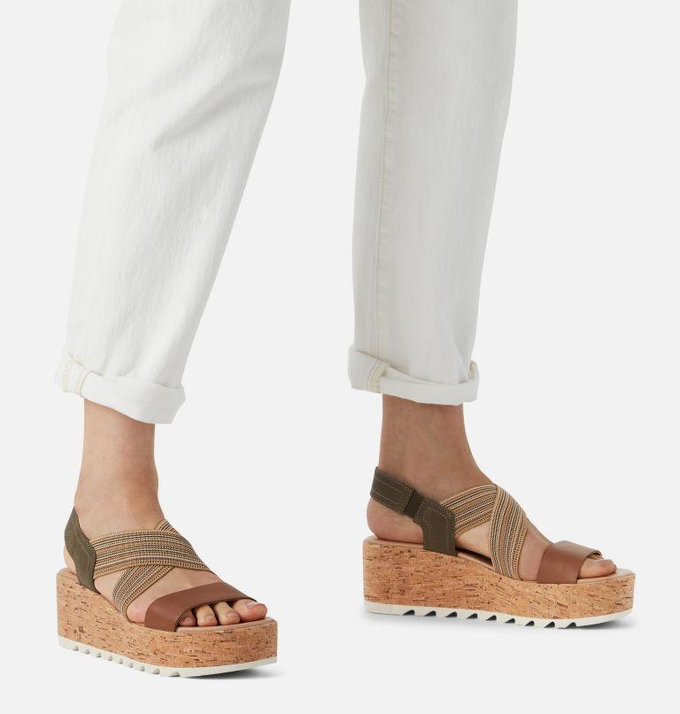 CAMERON™ FLATFORM SLINGBACK   242   5.5 Womens Cameron™ Flatform Slingback Wedge Sandal, Velvet Tan, a9