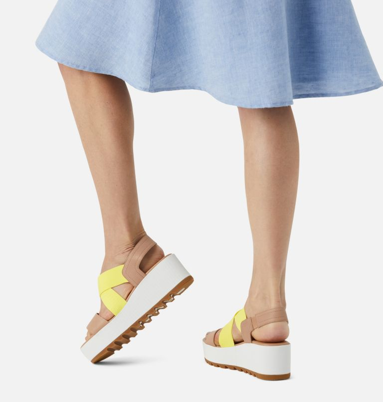CAMERON™ FLATFORM SLINGBACK | 246 | 5.5 Womens Cameron™ Flatform Slingback Wedge Sandal, Honest Beige, a9
