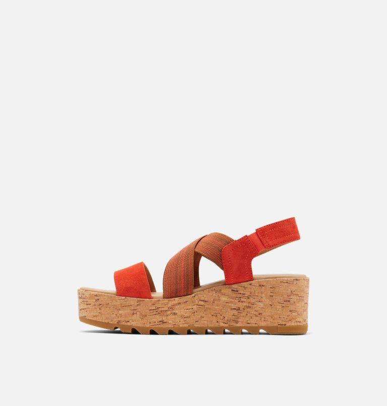 CAMERON™ FLATFORM SLINGBACK | 854 | 11 Womens Cameron™ Flatform Slingback Wedge Sandal, Signal Red, medial