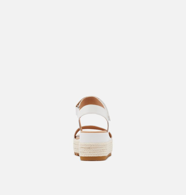 CAMERON™ FLATFORM SANDAL | 125 | 9.5 Womens Cameron™ Flatform Wedge Sandal, Sea Salt, back