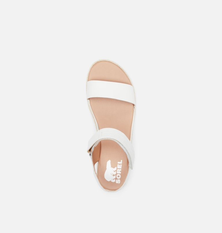 CAMERON™ FLATFORM SANDAL | 125 | 9.5 Womens Cameron™ Flatform Wedge Sandal, Sea Salt, top