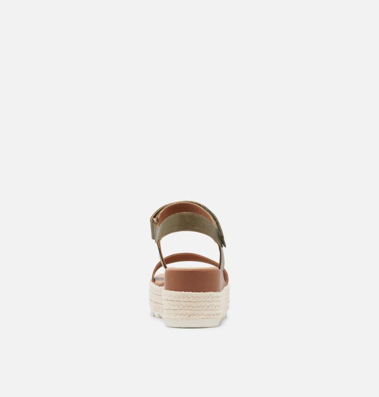 CAMERON™ FLATFORM SANDAL | 242 | 8 Womens Cameron™ Flatform Wedge Sandal, Velvet Tan, back