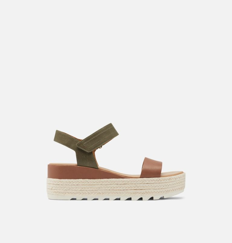 CAMERON™ FLATFORM SANDAL | 242 | 8 Womens Cameron™ Flatform Wedge Sandal, Velvet Tan, front