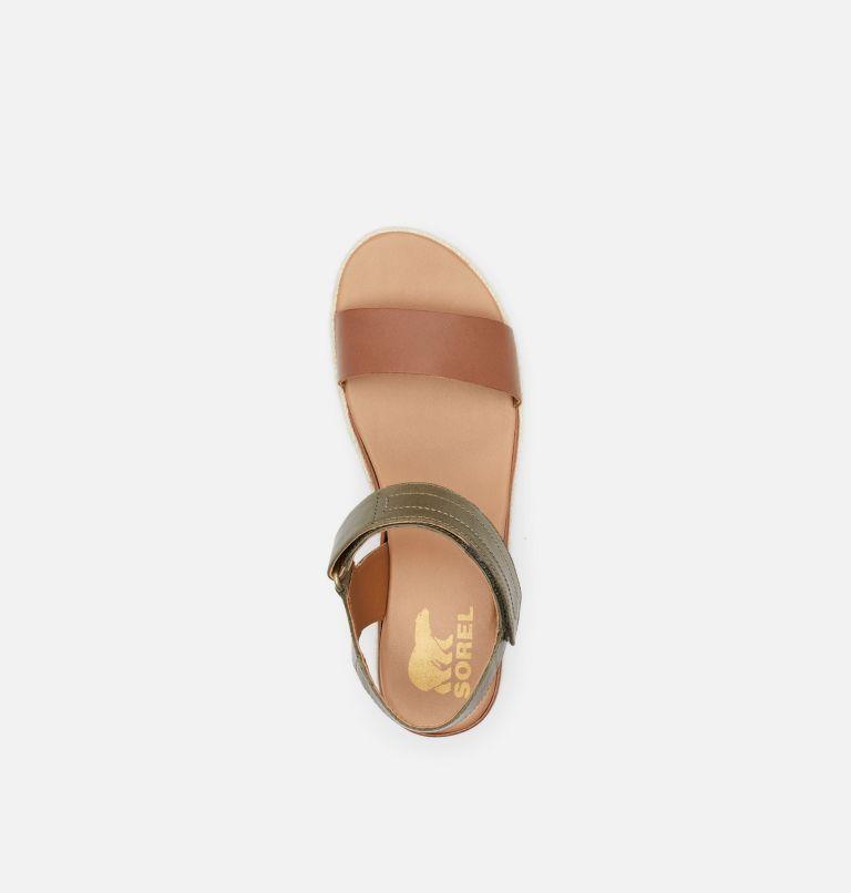 CAMERON™ FLATFORM SANDAL | 242 | 8 Womens Cameron™ Flatform Wedge Sandal, Velvet Tan, top