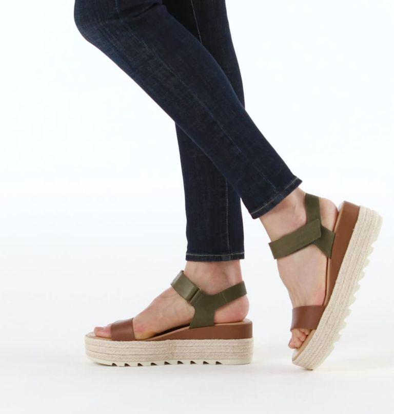 CAMERON™ FLATFORM SANDAL | 242 | 8 Womens Cameron™ Flatform Wedge Sandal, Velvet Tan, video