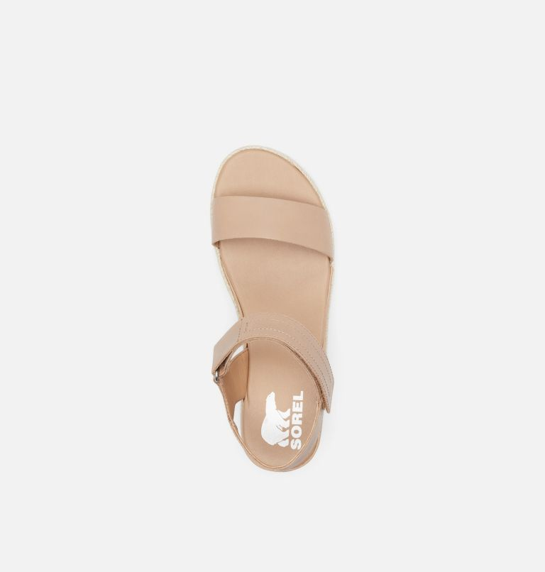 CAMERON™ FLATFORM SANDAL | 246 | 8 Womens Cameron™ Flatform Wedge Sandal, Honest Beige, top