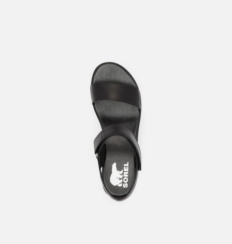 CAMERON™ WEDGE SANDAL | 010 | 6 Womens Cameron™ Wedge Sandal, Black, top
