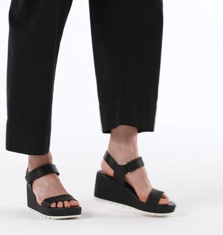 CAMERON™ WEDGE SANDAL | 010 | 6 Womens Cameron™ Wedge Sandal, Black, video