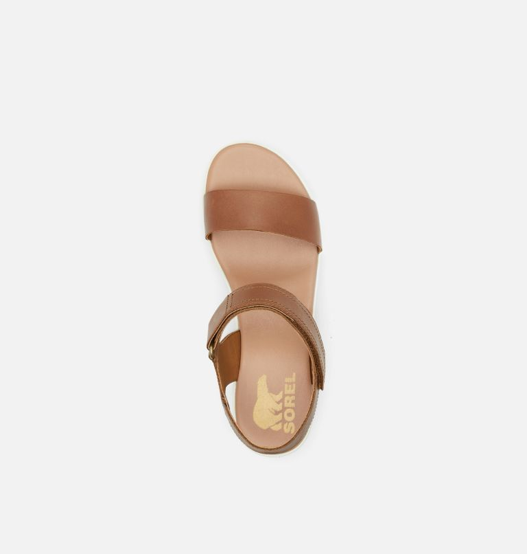 CAMERON™ WEDGE SANDAL | 242 | 6.5 Womens Cameron™ Wedge Sandal, Velvet Tan, top