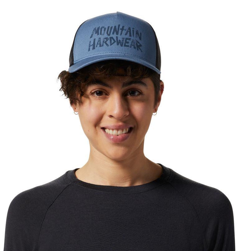 Gilman St™ Trucker Hat | 492 | O/S Gilman St™ Trucker Hat Unisex, Light Zinc, front
