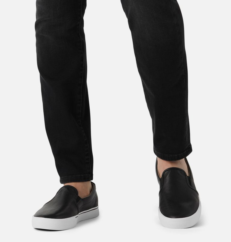 CARIBOU™ SNEAKER SLIP WP | 010 | 15 Mens Caribou™ Slip-On Sneaker, Black, a9