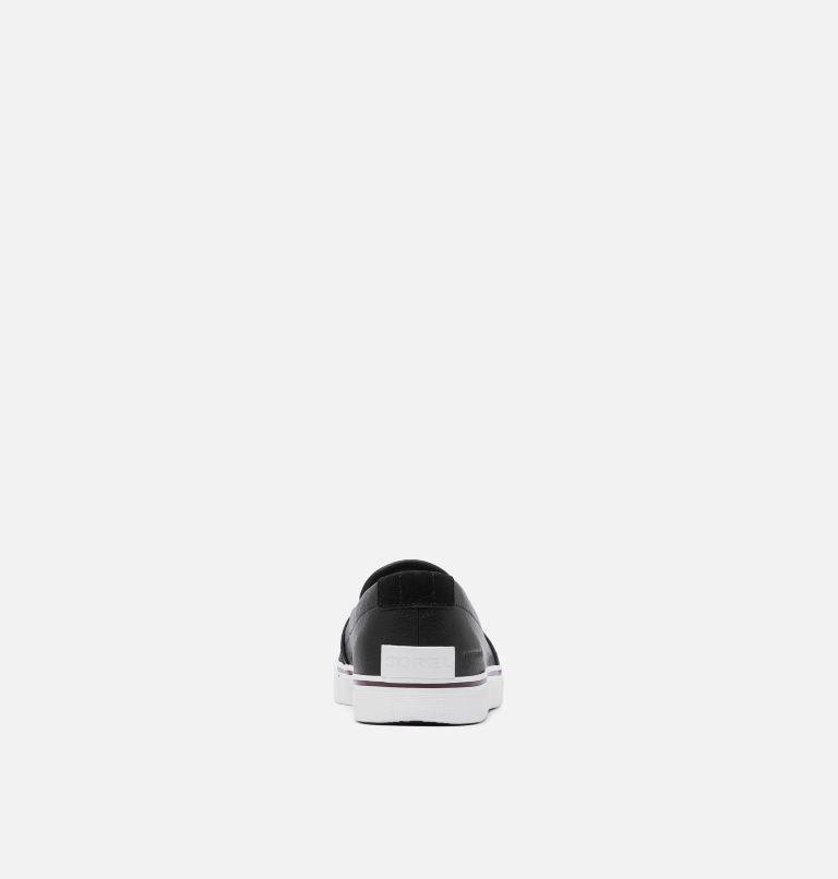 CARIBOU™ SNEAKER SLIP WP   010   8.5 Mens Caribou™ Slip-On Sneaker, Black, back
