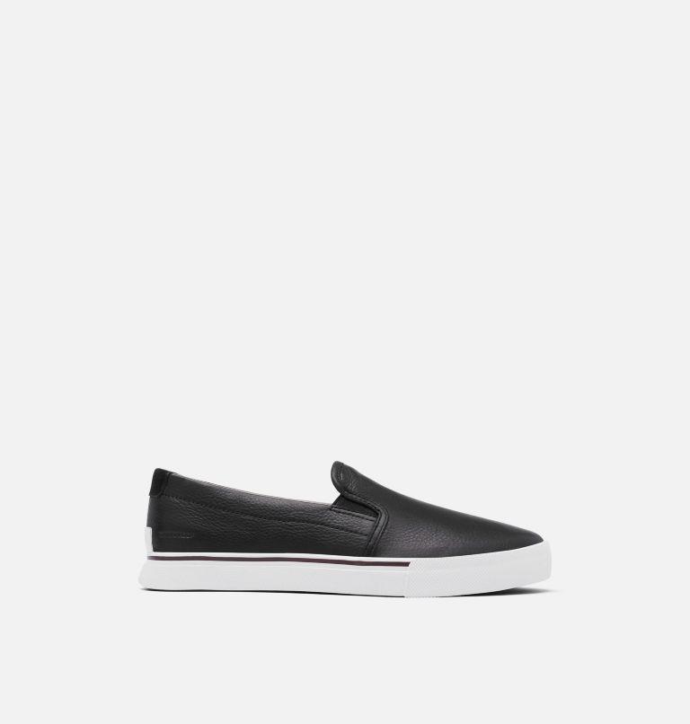 CARIBOU™ SNEAKER SLIP WP   010   8.5 Mens Caribou™ Slip-On Sneaker, Black, front