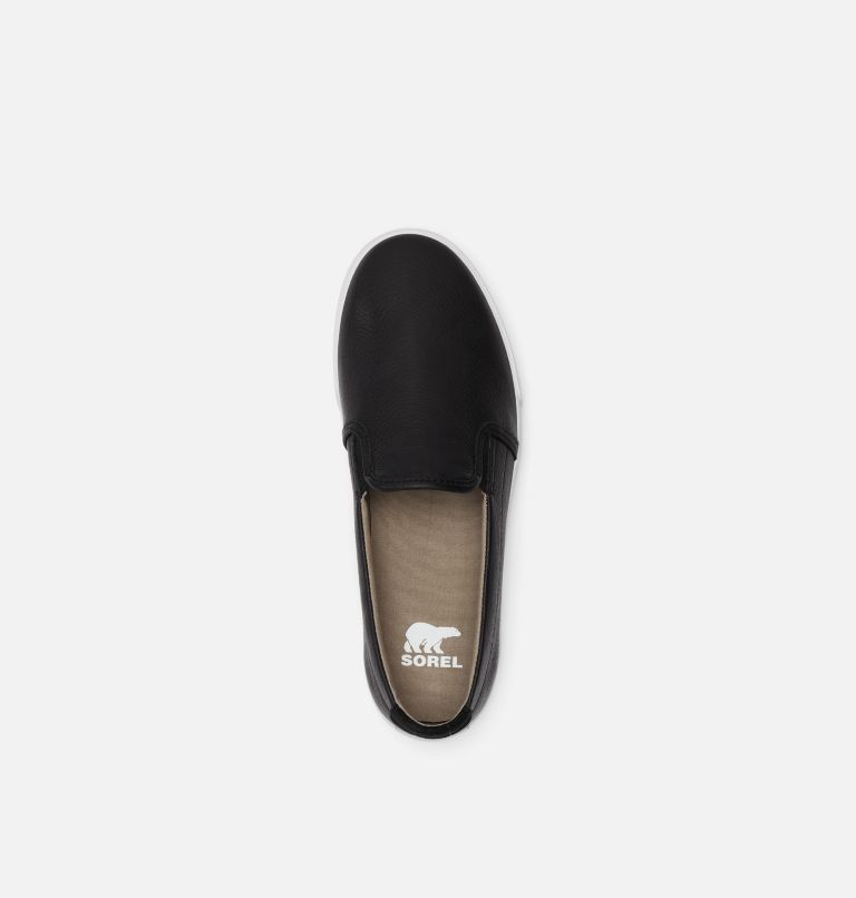 CARIBOU™ SNEAKER SLIP WP | 010 | 7 Mens Caribou™ Slip-On Sneaker WP, Black, top